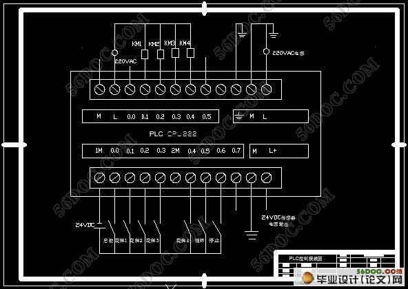 基于plc三自由度机械手的设计(新品)