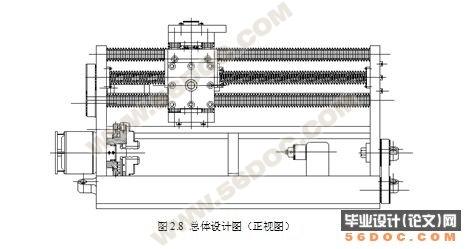 数控车床总体结构方案9